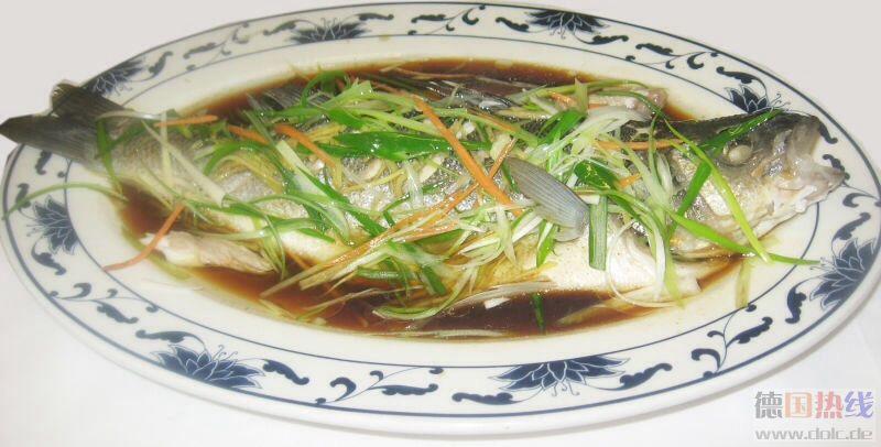 清蒸鲈鱼 13.80EUR