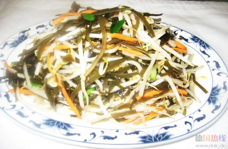 海带炒豆芽 6.80EUR